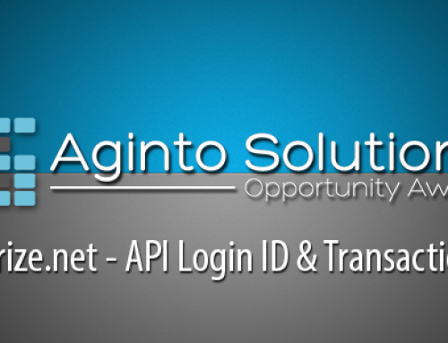 API Login ID & Transaction Key