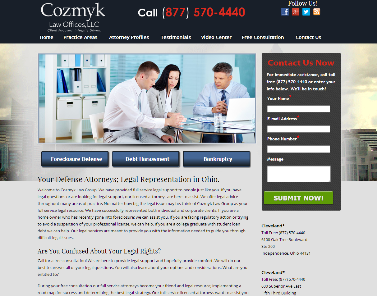 law firm website design florida