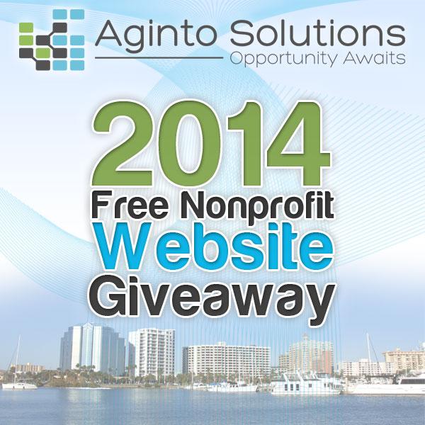 non profit website giveaway