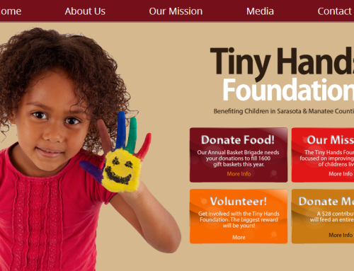Tiny Hands Foundation Website Launch