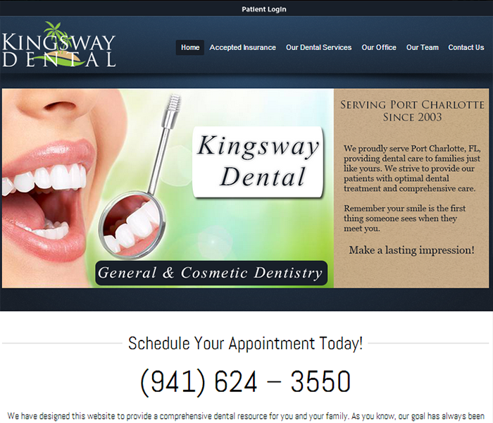 Dental Website Design company
